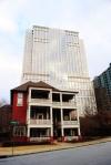 Atlanta architecture juxtapose