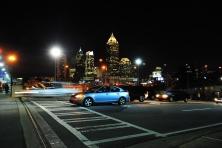 Atlanta's night skyline