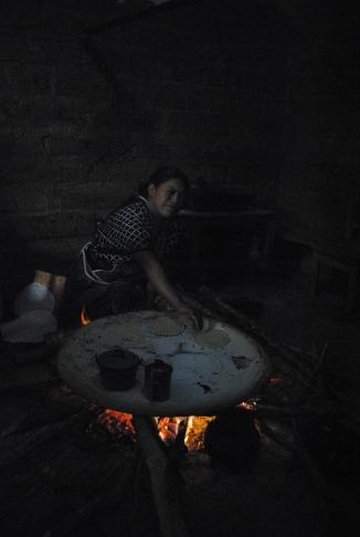 Making food in Chiapas