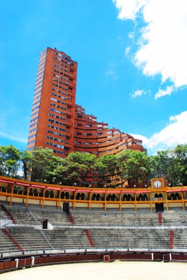 Bull fighting stadium, Bogota