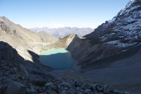 Glacial lake, Salkantay